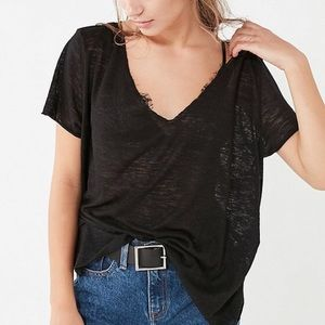NWT 🌹 PROJECT SOCIAL T x UO rayon tee size small